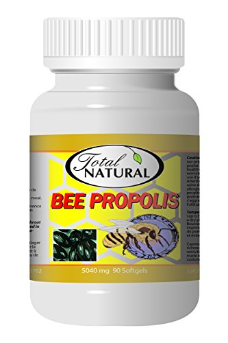 Bee Propolis 5040mg 90 Count Softgels [5 Bottles] by Total Natural, Anti-Inflammatory, Battling Free Radicals, Safe and Natural Antioxidant Health Supplement, GMP Premium Ingredients Review