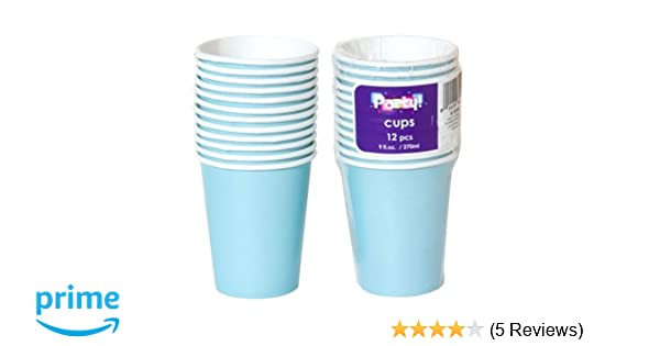 Disposable Party Milkshake Birthday Cold Drink Paper Cups