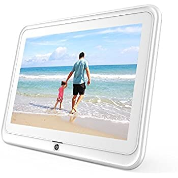 Digital Picture Frame, HP 10.1 inch WiFi Photo Frame, 1280x800 HD Display,  8GB Internal Storage, iPhone & Android App, Support Photo, Music, Calendar  ...