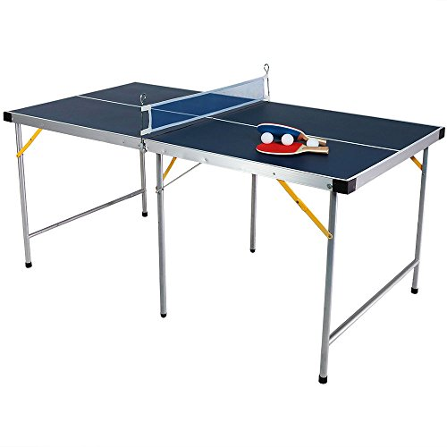 Sunnydaze 60 Inch Table Tennis Table - 60