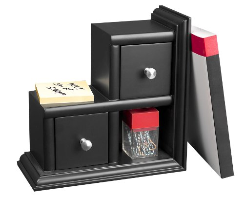 (Victor Midnight Collection Reversible Book End, Black (VCT89015))