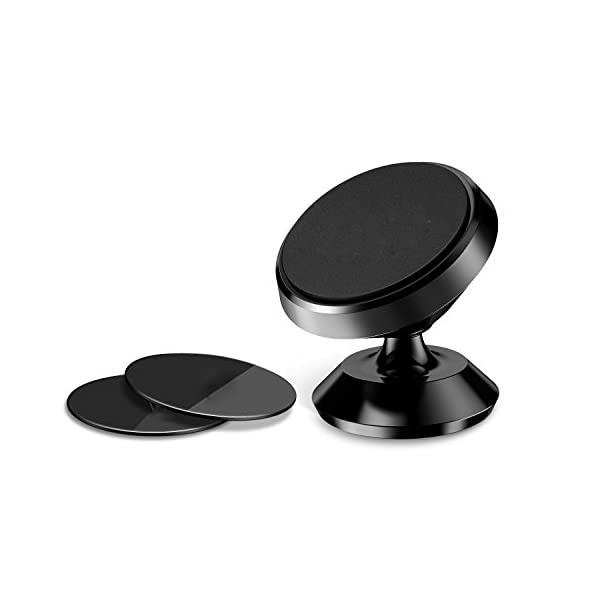 Magnetic Car Mount HolderHETBEES Universal 360 Rotation Magnetic Cell Phone HolderDashboard MountDesk Cell Phone Holder Hands Free Phone Mount For All Smartphones And Small Tabletsiphone Phone