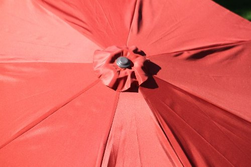 Ace Evert Market Umbrella 8011S, 9 ft, Polyester, Terra Cotta