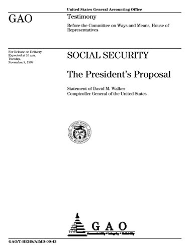Social Security  The Presidents Proposal