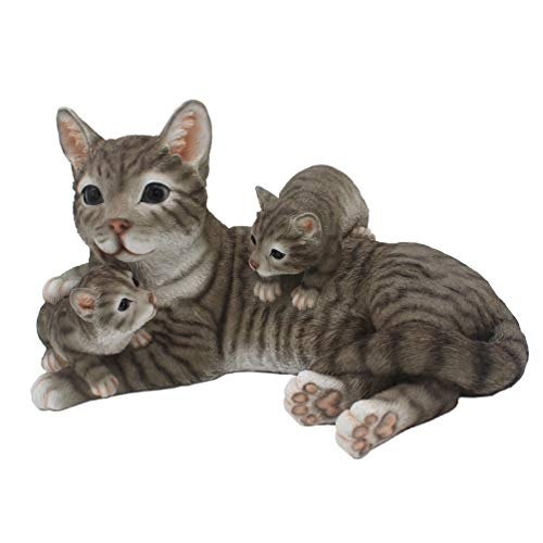 - CITONG Big Cats Play Tabby Indoor or Outdoor Garden Statues Decor