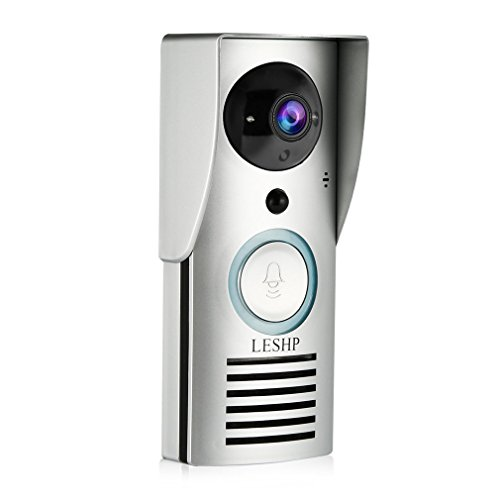 LESHP Wireless Doorbell Intercom Monitoring