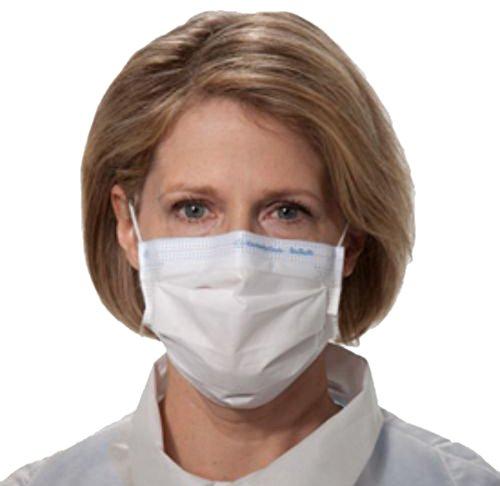 Halyard Health 62363 Fog-Free Procedure Mask, White (10 Dispensers of 50, 500 Total)