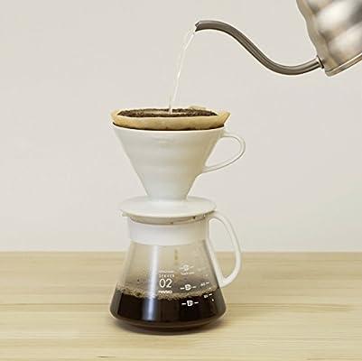 Hario VCND-02B Craft Coffee Maker - Juego de pala de cristal y ...