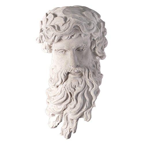Design Toscano Greek God of the Sea: Poseidon Wall Sculpture ()