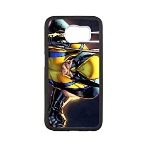 Wolverine Samsung Galaxy S6 Cell Phone Case White GYK55K20