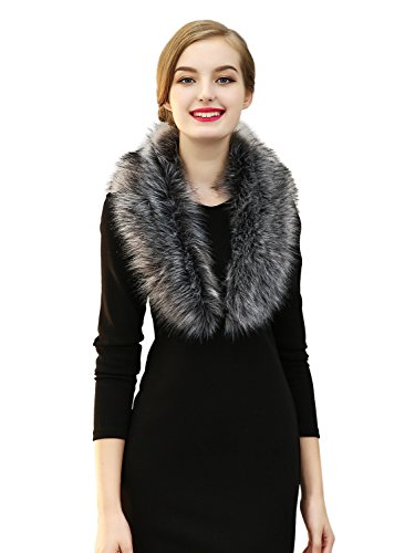 Faux Fur Collar Jacket - 3