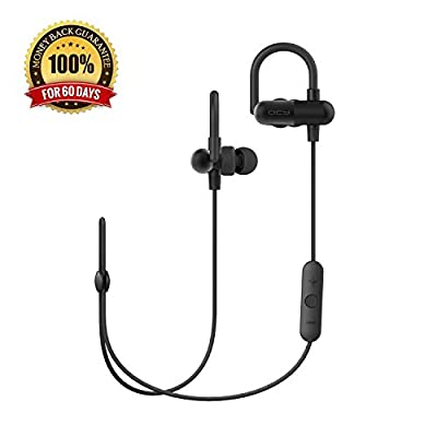 Bluetooth Earbuds QY11 V4.1 EDR Mini Wireless Earphones Noise Cancelling CVC6.0 Sweatproof In-ear Stereo Headphones APT-X/Mic Sport Running Gym Exercise Headsets Neckband Hands-free Balanced Audio