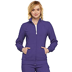 Cherokee Women's Infinity Zip Front Warm-up Jacket 17