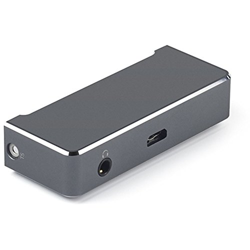 Fiio AM5 High Power Headphone Amplifier for X7 Music Player, Titanium,Grey by Fiio