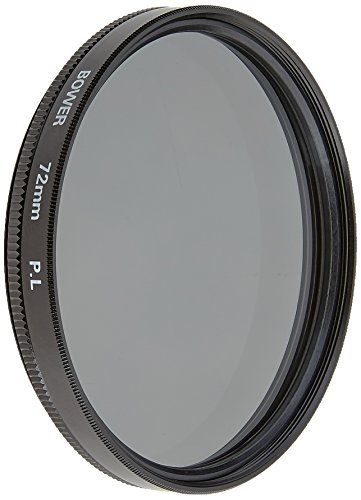 Bower FP72 72 mm Pro Digital High Definition Linear Polarizer Filter (Black)