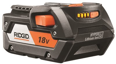Ridgid Genuine OEM R840087 18V Hyper Lithium-Ion 4AH Single Battery from Ridgid