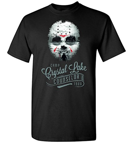 Halloween Jason Voorhees - Camp Crystal Lake Counselor Adult/Youth Shirt -