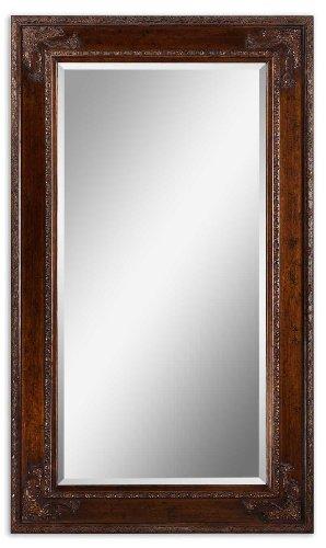Uttermost Edeva Heavily Distressed Multi-Finish Wall / Leaning Floor Mirror - 43W x 73H in. ()