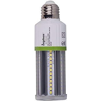 Dephen 9w Led Corn Light Bulb E26 Screw Base 5000k