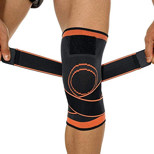 Hopgo Knee Braces for Men Women Knee Support Non-Slip Knee Compression Sleeves with Adjustable Straps for Arthritis…