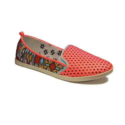 DV8 Women's Ronan Fashion Sneaker,Electric Coral,8.5 M US