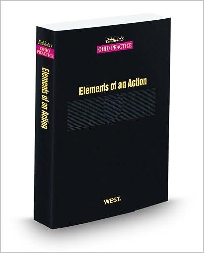 Amazon com: Elements of an Action, 2010-2011 ed  (Baldwin's