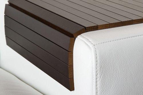 Moebelhome Sofatablett Gross 80cm Ablage Tablett Braun Fur Hocker Oder Longchair Couch Tablett Sofaschoner