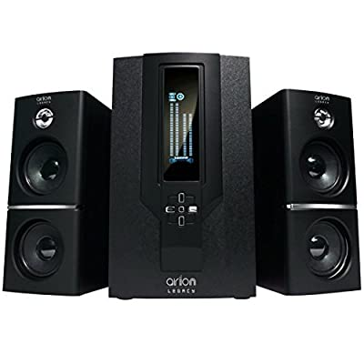 Arion Legacy AR302 AC Powered 2.0 Desktop Speakers 12 Watts Retail Pack