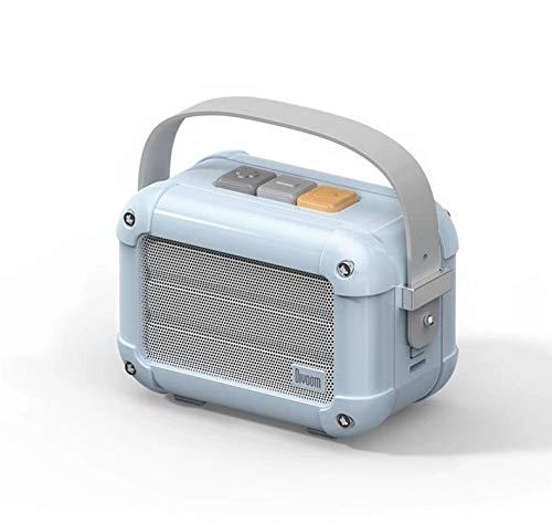 MTkxsy メタルミニサブウーファークリエイティブレトロスピーカーラジオワイヤレスBluetoothスピーカー (Color : ブルー)   B07Q82W9CD