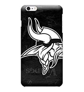 Case Cover For Apple Iphone 6 4.7 Inch NFL Minnesota Vikings Black White Case Cover For Apple Iphone 6 4.7 Inch High Quality PC Case