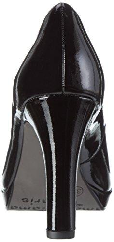 Nero Patent Tamaris Tacco 22426 con Scarpe Black 018 Donna zvq4TBU