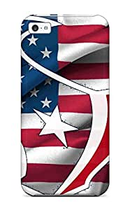 Protective Tpu Case With Fashion Design For Iphone 5c (houston Texans )