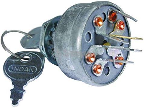 Stens Briggs /& Stratton 5411K Indak Ignition Switch Replacement Part