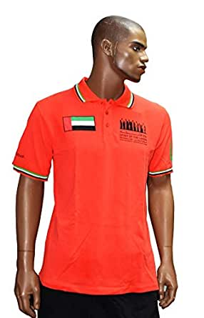 National Day Polo t-shirt Red/XL