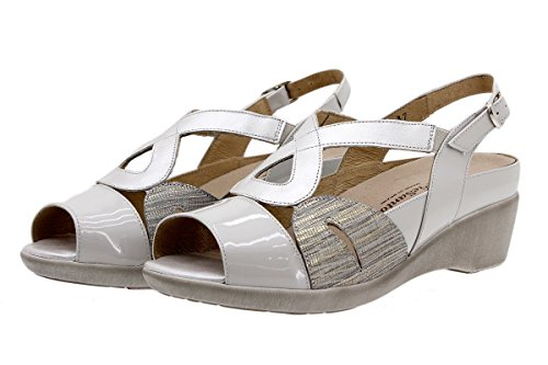 Plantilla 1155 PieSanto de Confort Calzado Extra Mujer Sandalia Piel ry0qHZT01