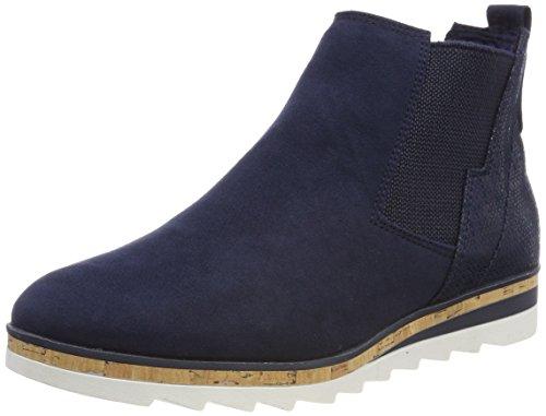 MARCO Navy 25401 Boots Damen Blau Comb Chelsea TOZZI r18arx