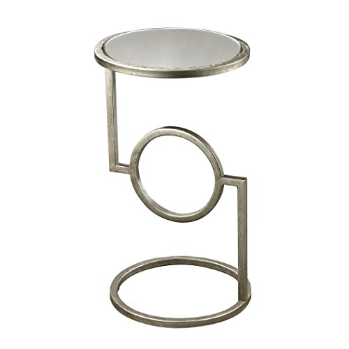 Dimond Home 114-107 Mirrored Top Hurricane Side Table, 12