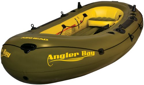 Angler Boat - Airhead ANGLER BAY Inflatable Boat, 6 person