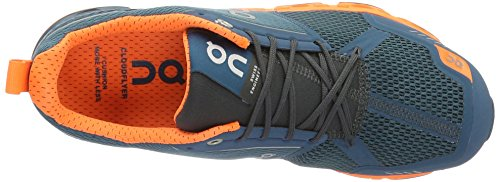 On Running Cloudflyer M 13, Zapatillas de Running para Hombre, Azul (Storm / Flash), 48 EU