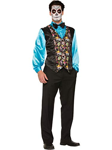 Forum Novelties, Inc Day of Dead Vest -