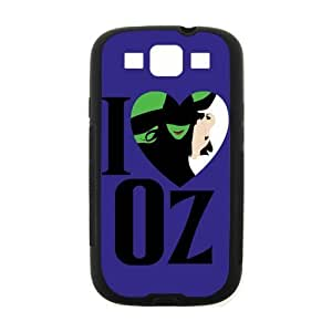 Musical Wicked Samsung Galaxy S3 I9300 Case Cover Protecter - Retail Packaging - Laser Rubber