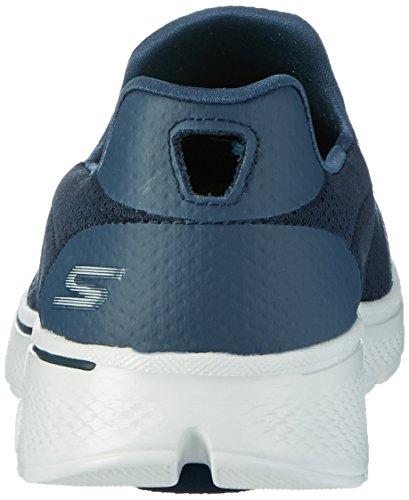 Skechers Go Walk 4, Scarpe da Ginnastica Basse Uomo Blu (Nvgy)