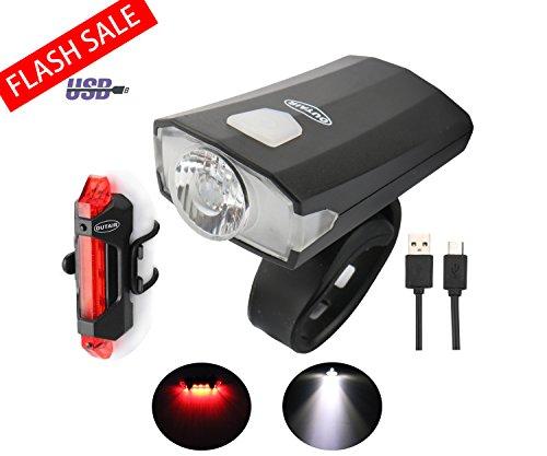 5 LED Light Bicycle Mountain Bike Front Light Lamp Set Bike - 6