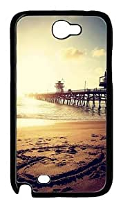 Beautiful Sea Often Feel I Can Not ResIst Polycarbonate Hard Case Cover for Samsung Galaxy Note 2/N7100 Black