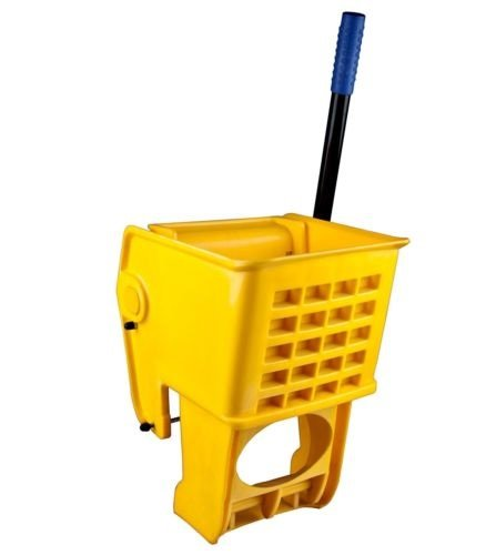 (Yellow 36 Quart Wet Mop Bucket Replacement Wringer Commercial)