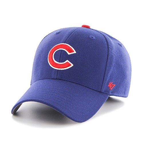 MLB Chicago Cubs Juke MVP Adjustable Hat, One Size, (Chicago Cubs Classic Cotton)