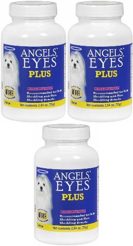 Angels' Eyes PLUS Dog Tear Stain Remover, Chicken 225g (3 x 75g) by Angel's Eyes