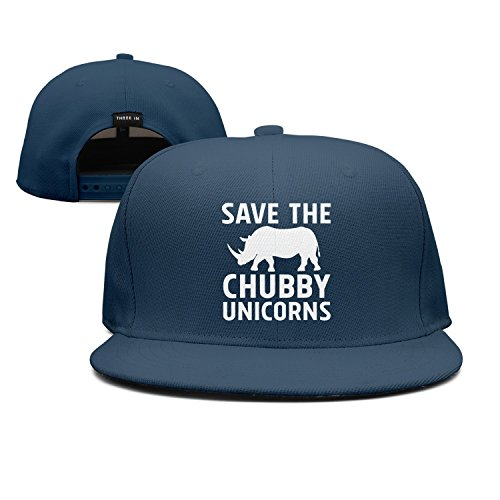 ddasqas Save The Chubby Unicorns Unisex Plain Caps Baseball Caps
