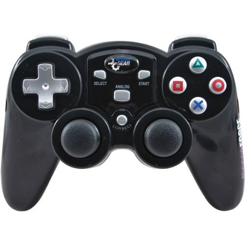 - Magna Force RF Wireless Controller For PS2® - Black