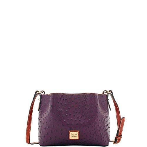 Dooney & Bourke Ostrich Mini Barlow Crossbody Top Handle Bag ()